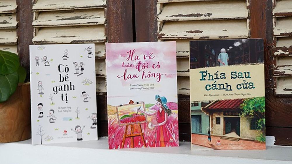 Lần đầu tiên bộ ba truyện đồ họa cho thiếu nhi Việt Nam được xuất bản
